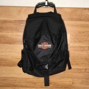 Harley Davidson Black Backpack